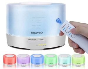 Purificatore per Aromaterapia 7 Colori LED Nebbia Fredda